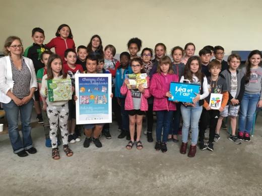 Concours d'affiches Change air ! en Nouvelle-Aqutaine