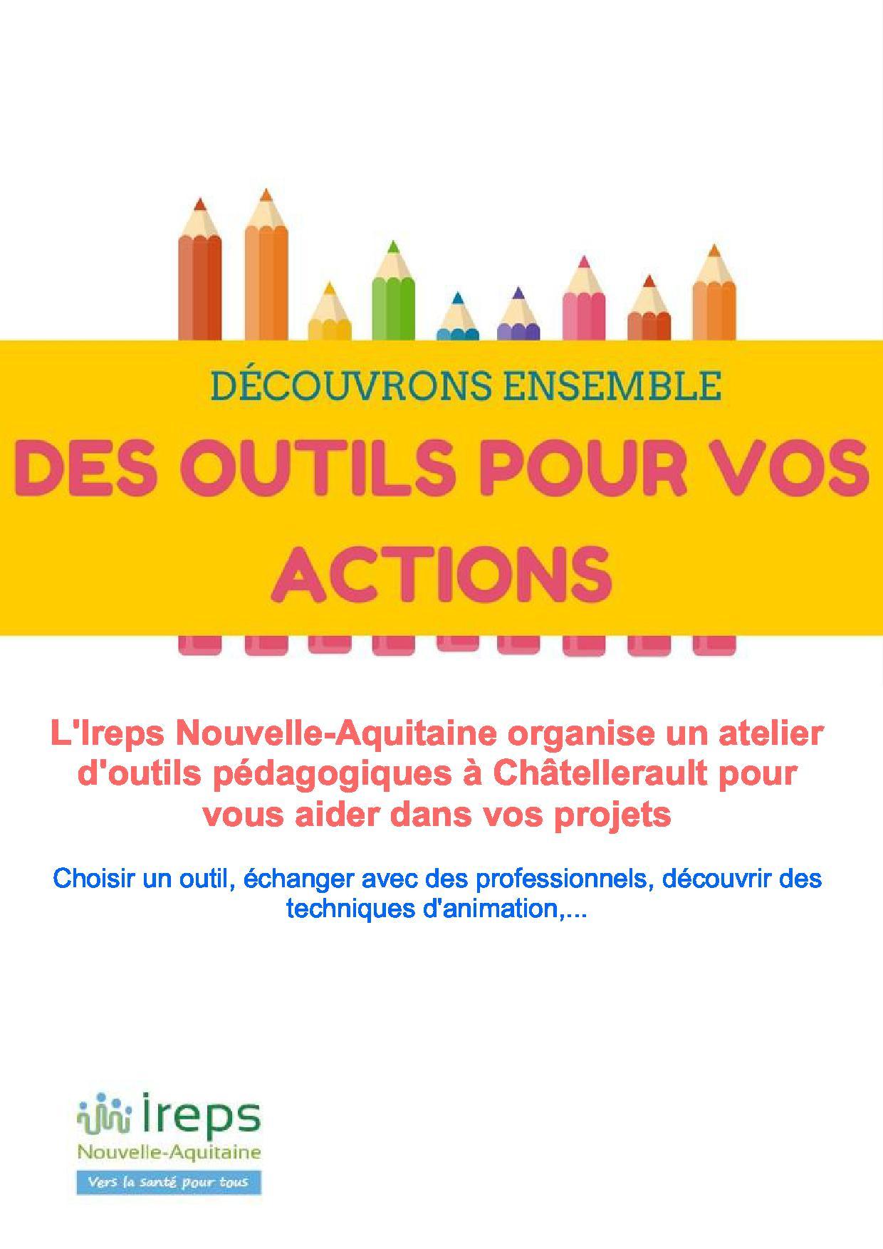 Atelier alimentation et activités physiques Chatellerault