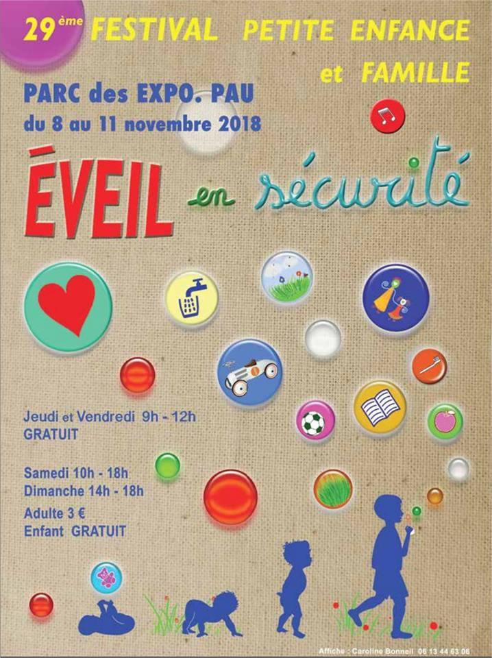 festival de la petite enfance à Pau 2018