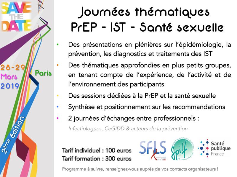 Journées thématiques PREP / IST / SANTE SEXUELLE