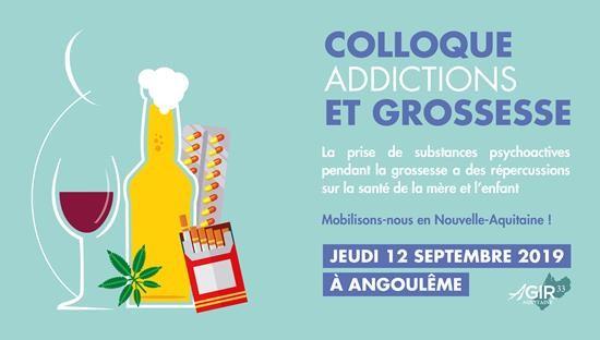 colloque addictions et grossesse le 12 septembre a Angouleme