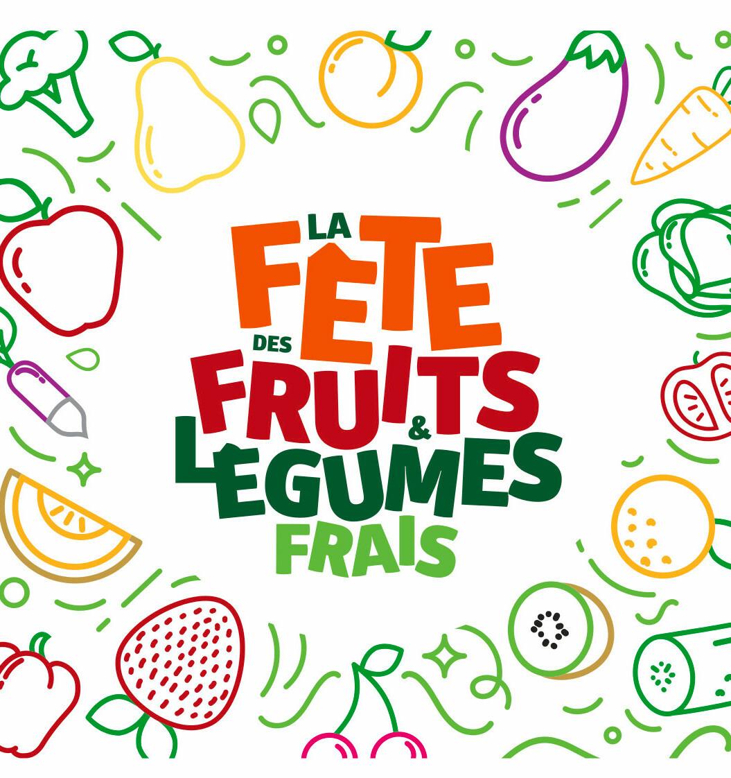 fete des fruits et legumes frais