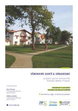 Salies-de-Bearn (64) - Séminaire Santé et Urbanisme : La santé, un état de bien-être physique, mental et social