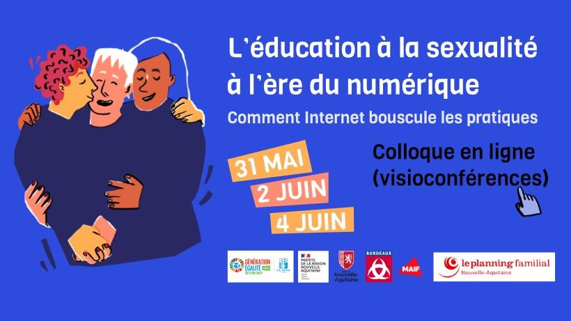 """E-colloque """"L'Education à la sexualité à l'ère du numérique"""""""